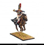 French 5th Cuirassiers Officer Charging