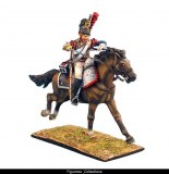 French 5th Cuirassier Trooper with Carbine Charging