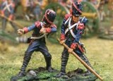 French Guard Cannon Movers 2 figs