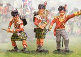 92nd Highlanders  Command ( 3 figs )