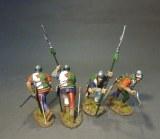 soldats lancastriens x4 PO