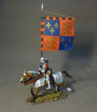RYORK-02 The Retinue Of King Richard III, Men At Arms With Heraldic Banner (3 pcs)