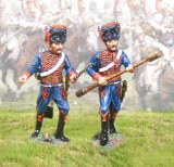 French Guard Horse French gnitor & Sponger 2 figs