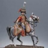 CCH- Kit à peindre - Colonel de hussards 6ème rgt. 1809