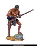 uMbonambi Zulu Warrior Loading Musket