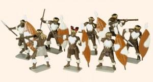 Zulus Unmarried Regiments