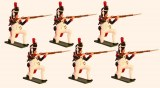French Grenadiers of the Guard Kneeling Firing