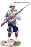 British 42nd Highlander At The Ready