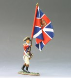 BR035 Marching Officer w. Union Flag