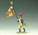 NA033 Marching French Flagbearer