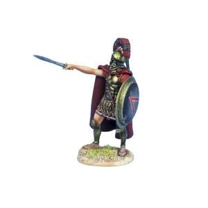 AG056 Greek Hoplite Spartan Leader