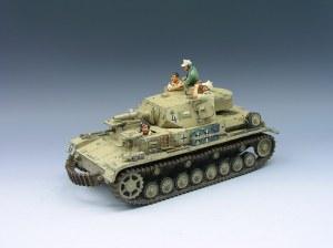 AK040 Afrika Korp Panzer IV - RETIRE SANS BOITE ORIGINALE