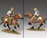 AL074 Mounted Kiwi Charging w/Rifle