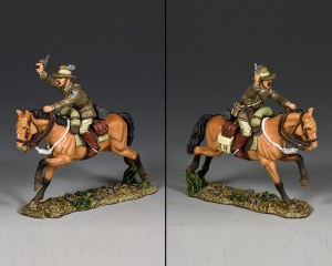 AL094 Australian Light Horse Officer w/ Pistol