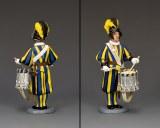 CE023 Swiss Guard Drummer