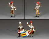 CE026 Swiss Guard Recruit PRE ORDER