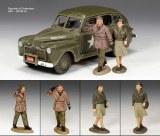 DD154(SL) The Eisenhower Staff Car Set LE750 RETIRE - Sans boite d'origine