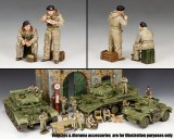 DD301 British Dismounted AFV (Armoured Fighting Vehicle) Crew Set #1