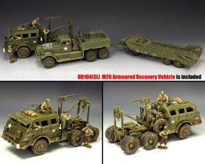 DD318-S01 DD318 Diamond T with DD104(SL) M26 Recovery Vehicle