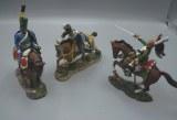 Delprado Lotcav-1 : 3 cavaliers - Napoleonien
