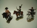 Delprado Lotcav-2 : 3 cavaliers - Napoleonien