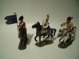 Delprado Lotcav3 : 3 cavaliers - Napoleonien