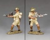 FOB149 Gurkha firing Bren Gun