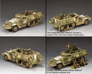 IDF020 The Israeli Army M3 Halftrack PRE ORDER