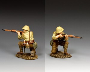 JN051 Kneeling Firing Rifleman