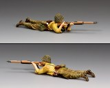 JN057 Lying Prone Rifleman