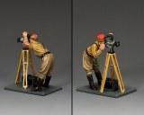 LAH229 Standing Cameraman & Tripod