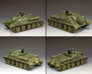 RA077 The SU-122 Self Propelled Howitzer PRE ORDER
