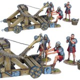 ROM180 Roman Onager with 3 Crew - Red Tunics PRE ORDER