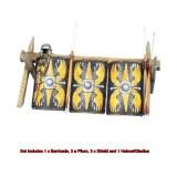ROM183 Roman Shield Stack - Legio Augusta