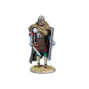 ROM224 Imperial Roman Legio XIIII G.M.V. Legionary Standing with Gladius