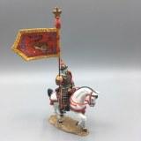 SR002B CHINESE FLAGBEARER ON WHITE HORSE RETIRE