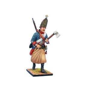 SYW051 Prussian Grenadier Sapper Advancing