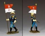 TRW116 Buffalo Soldiers Sergeant w/ Guidon