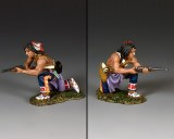 TRW131 Kneeling Plains Indian w/Carbine