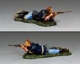TRW152 Corporal Lying Firing Carbine