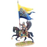 TYW005c Polish Winged Hussar Prince Alexander Sobieski's Battle Flag at Vienna 1683 SOLD OUT