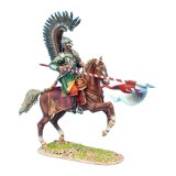 TYW010 Polish Winged Hussar Charging with Lance PRE ORDER