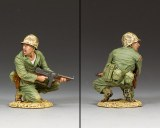 USMC013 'Marine Officer w/Tommy Gun'
