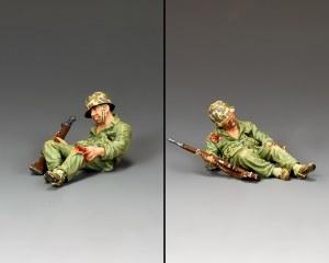 USMC032 Wounded Marine