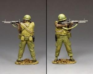 VN007 Viet Nam Machine Gunner