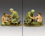 VN009 Corpsman & Wounded Marine PRE ORDER