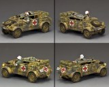 WH087 Ambulance Kubelwagen (Mid-Late War)