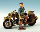 WS007 Single MC with Dismounted Dispatch Rider RETIRE
