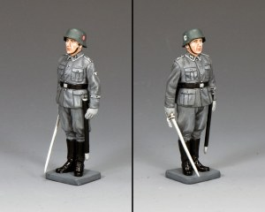 WS339 Waffen SS NCO at Attention
