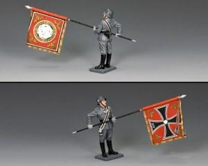 WS341 Waffen SS Flagbearer